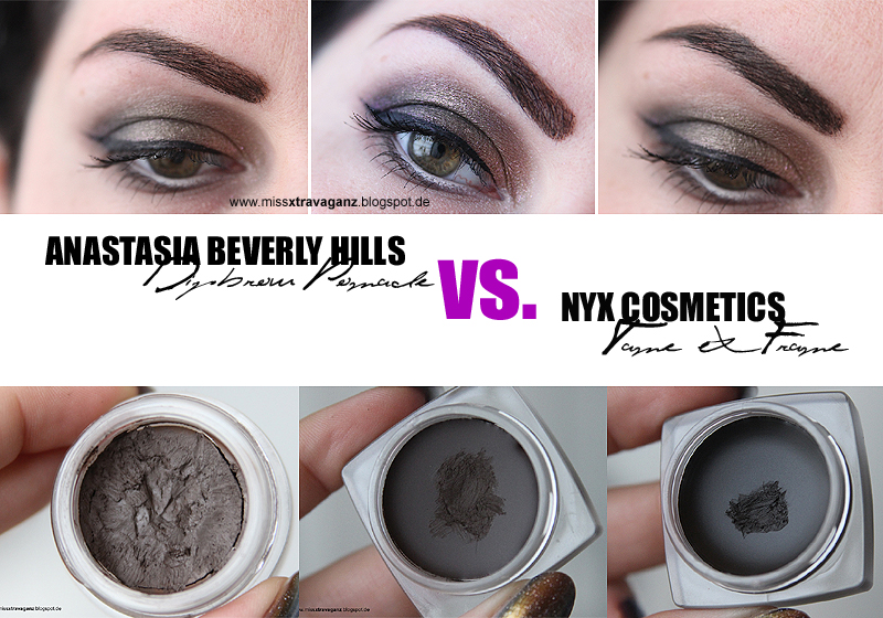 Review Anastasia Beverly Hills Dipbrow Pomade Vs Nyx